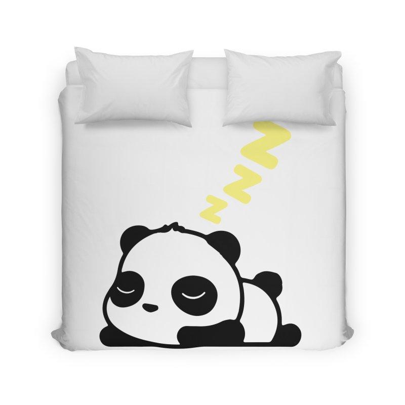 Sleeping Panda - Yellow ver. Home Duvet by My Shirty Life