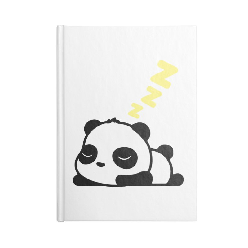 Sleeping Panda - Yellow ver. Accessories Notebook by My Shirty Life