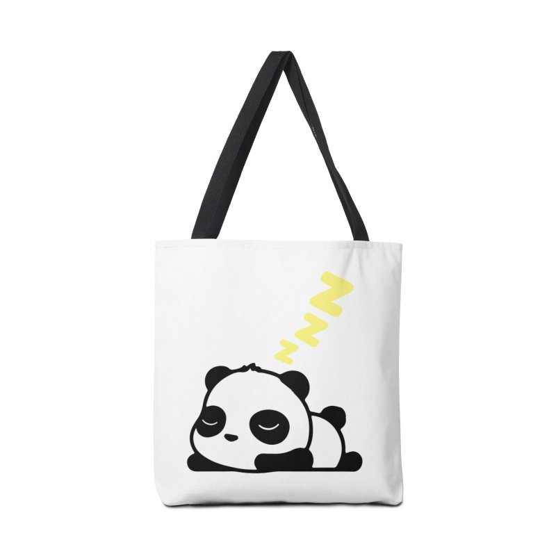 Sleeping Panda - Yellow ver. Accessories Bag by My Shirty Life