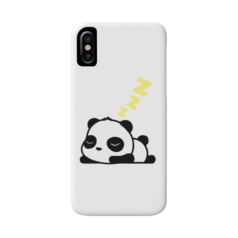 Sleeping Panda - Yellow ver. Accessories Phone Case by My Shirty Life