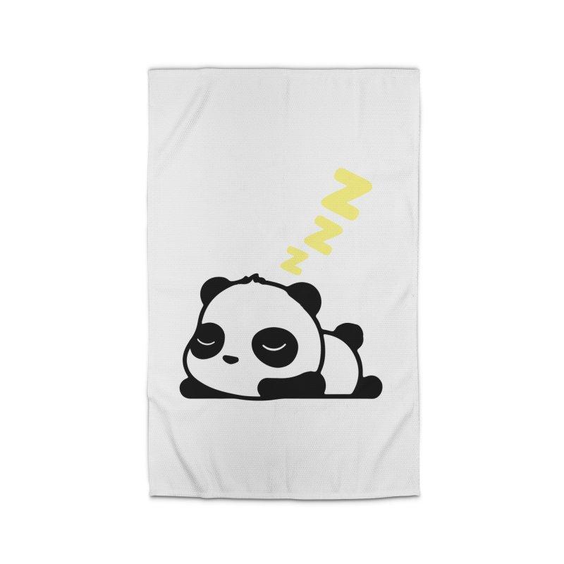 Sleeping Panda - Yellow ver. Home Rug by My Shirty Life