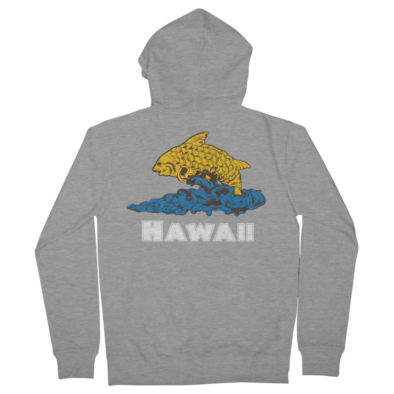 Greetings from Hawaii Women's French Terry Zip-Up Hoody by My Shirty Life