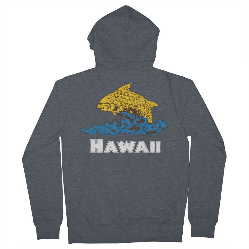 Greetings from Hawaii Men's Zip-Up Hoody by My Shirty Life