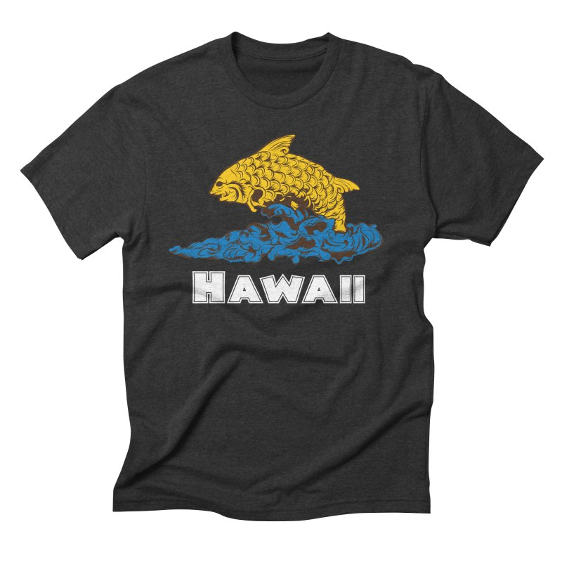 Greetings from Hawaii Men's Triblend T-Shirt by My Shirty Life