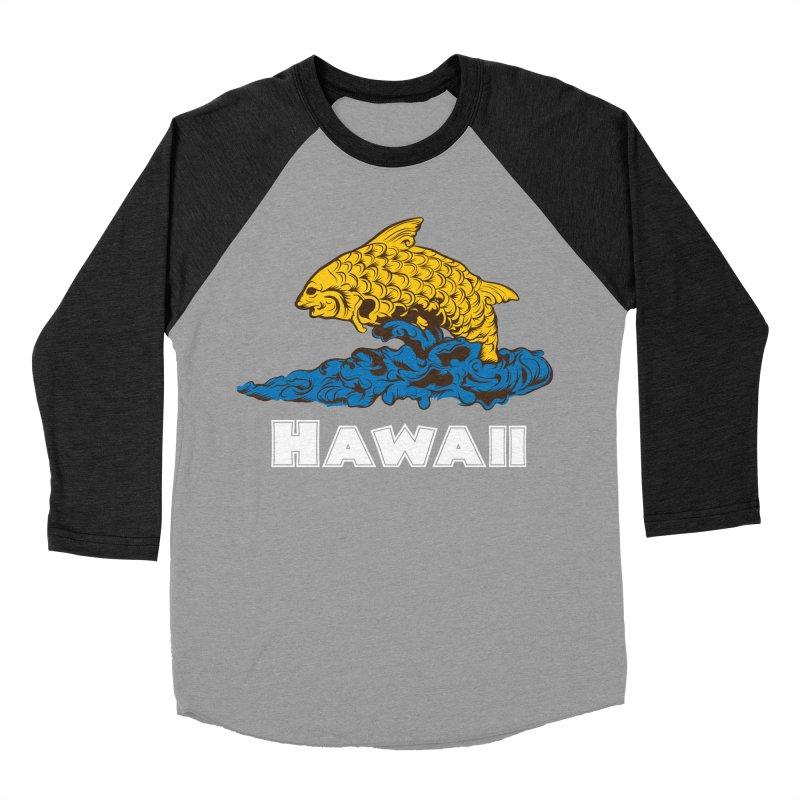 Greetings from Hawaii Women's Baseball Triblend Longsleeve T-Shirt by My Shirty Life