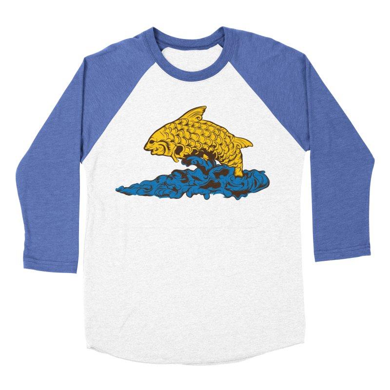 Greetings from Hawaii Men's Baseball Triblend T-Shirt by My Shirty Life