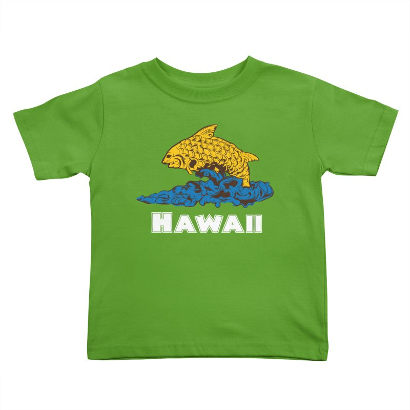 Greetings from Hawaii Kids Toddler T-Shirt by My Shirty Life