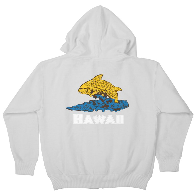 Greetings from Hawaii Kids Zip-Up Hoody by My Shirty Life
