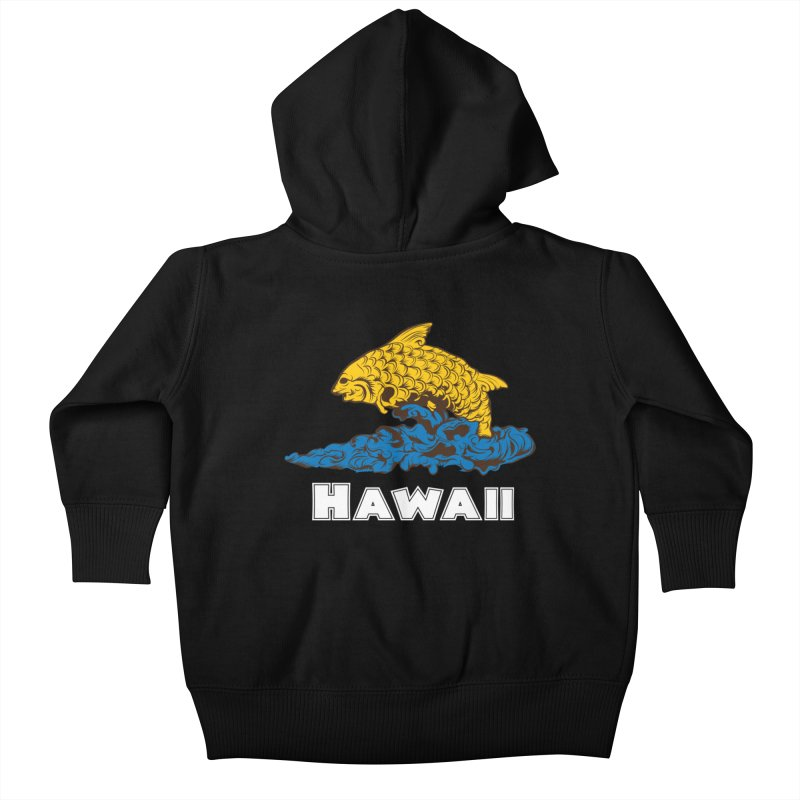 Greetings from Hawaii Kids Baby Zip-Up Hoody by My Shirty Life