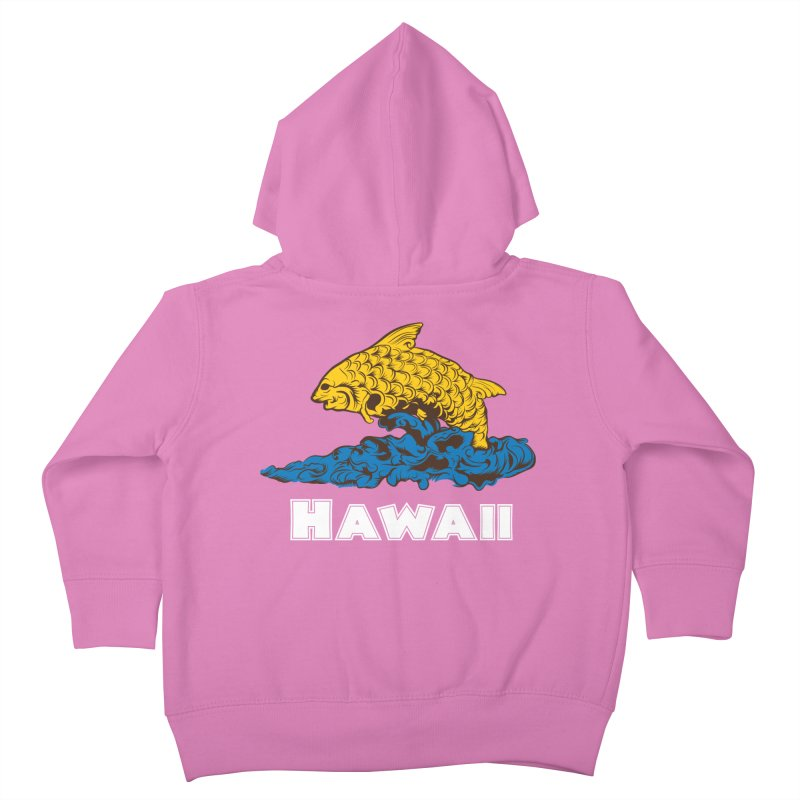 Greetings from Hawaii Kids Toddler Zip-Up Hoody by My Shirty Life