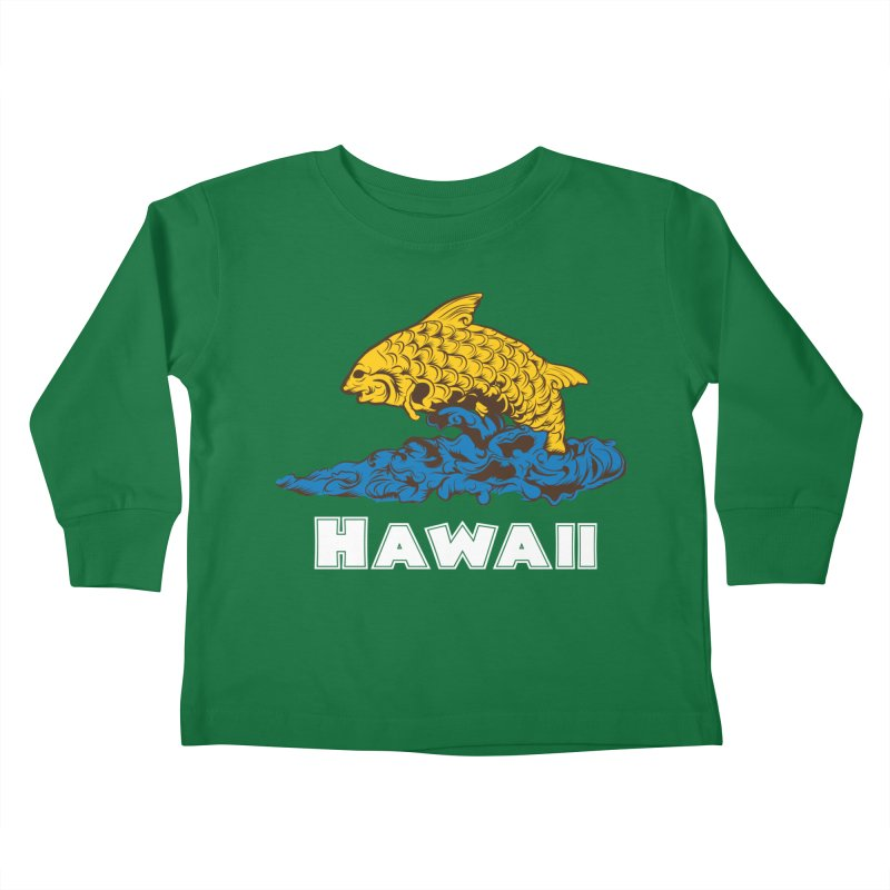 Greetings from Hawaii Kids Toddler Longsleeve T-Shirt by My Shirty Life