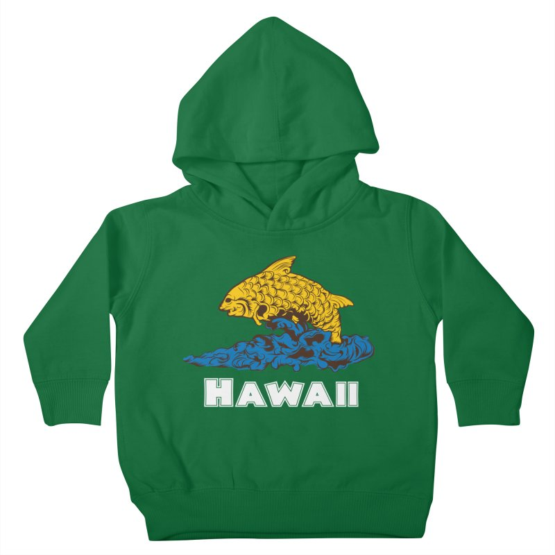 Greetings from Hawaii Kids Toddler Pullover Hoody by My Shirty Life