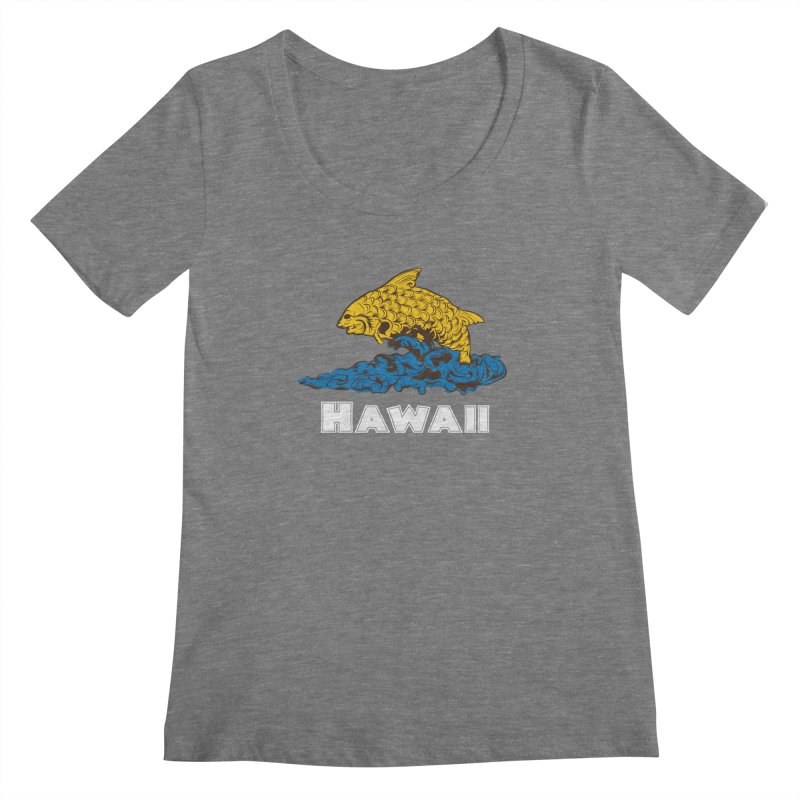 Greetings from Hawaii Women's Scoopneck by My Shirty Life