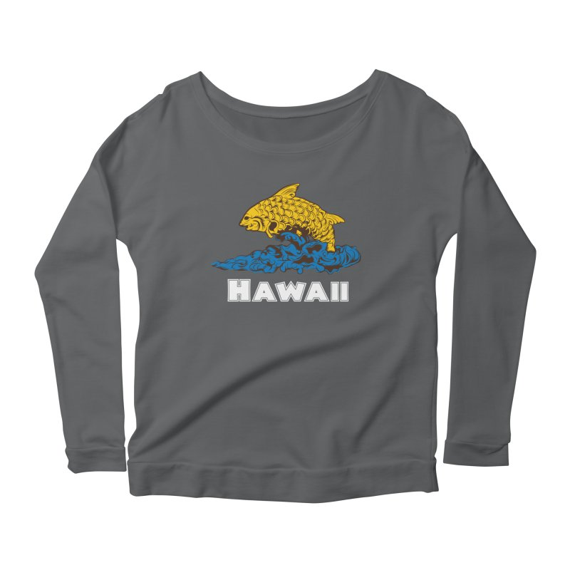 Greetings from Hawaii Women's Longsleeve Scoopneck  by My Shirty Life