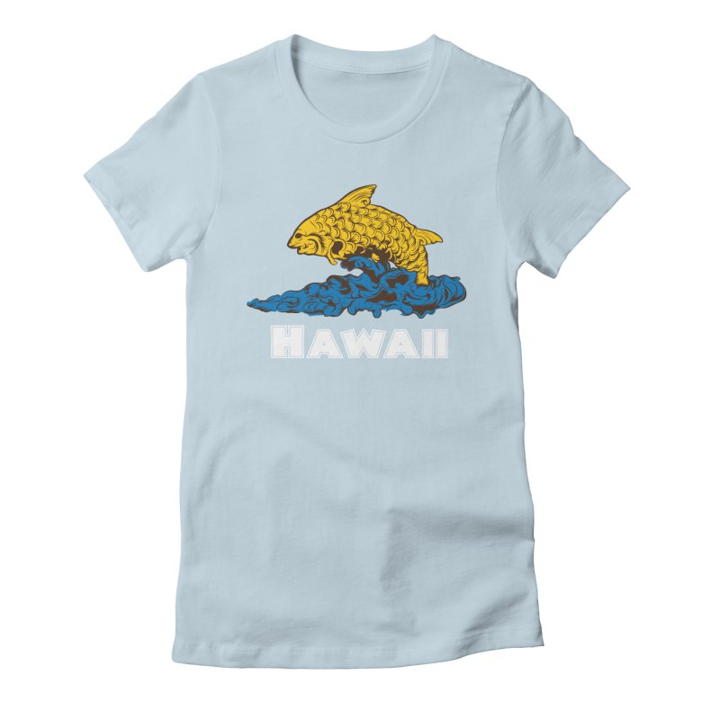 Greetings from Hawaii Women's Fitted T-Shirt by My Shirty Life