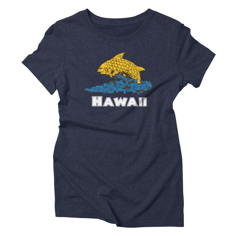 Greetings from Hawaii Women's Triblend T-Shirt by My Shirty Life