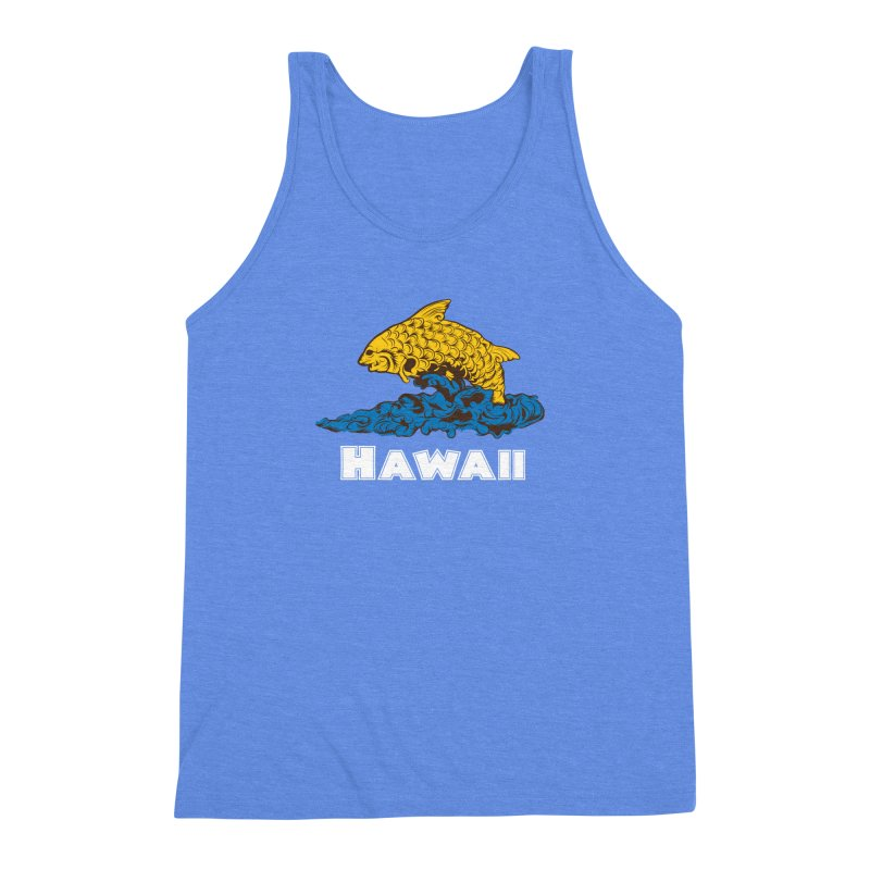 Greetings from Hawaii Men's Triblend Tank by My Shirty Life