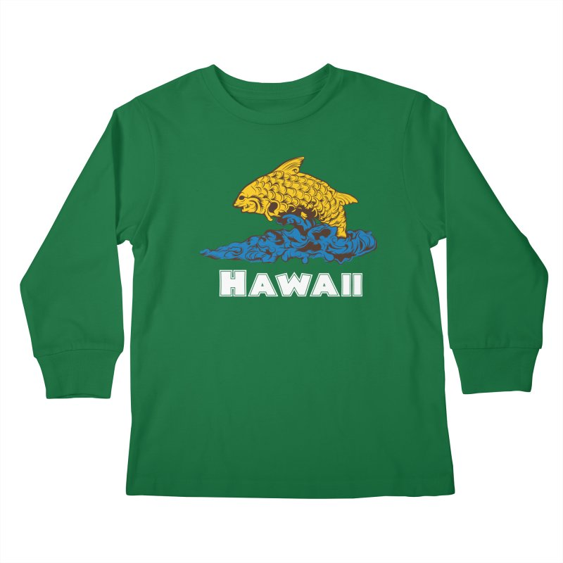 Greetings from Hawaii Kids Longsleeve T-Shirt by My Shirty Life