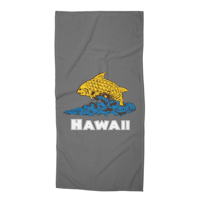 Greetings from Hawaii Accessories Beach Towel by My Shirty Life