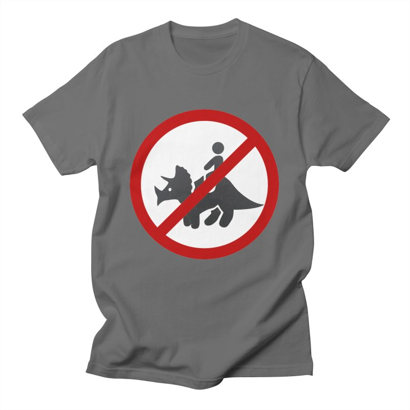 No Dino Rides Men's T-Shirt by My Shirty Life