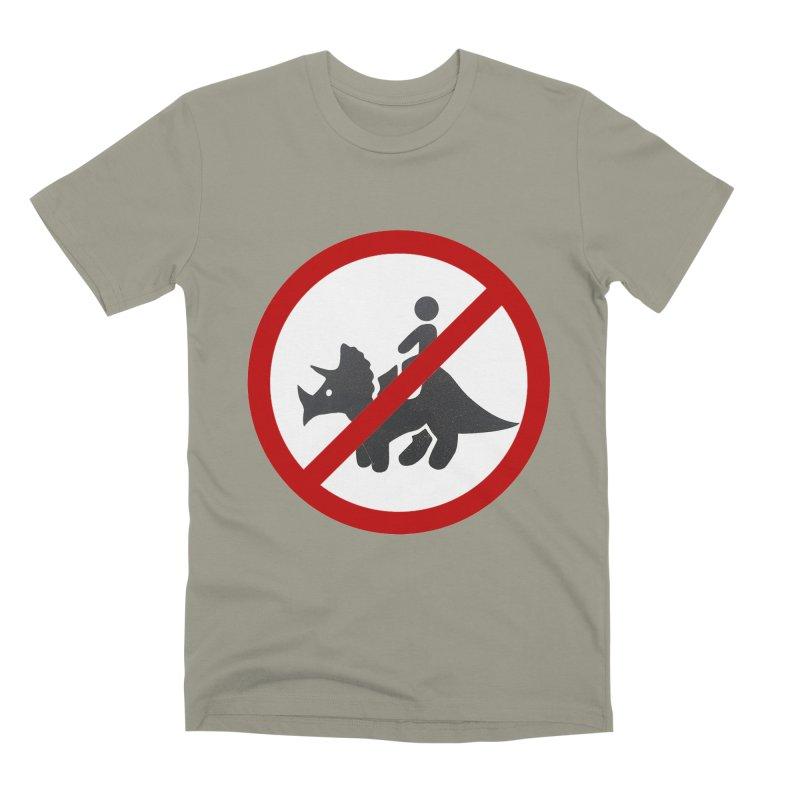 No Dino Rides Men's Premium T-Shirt by My Shirty Life