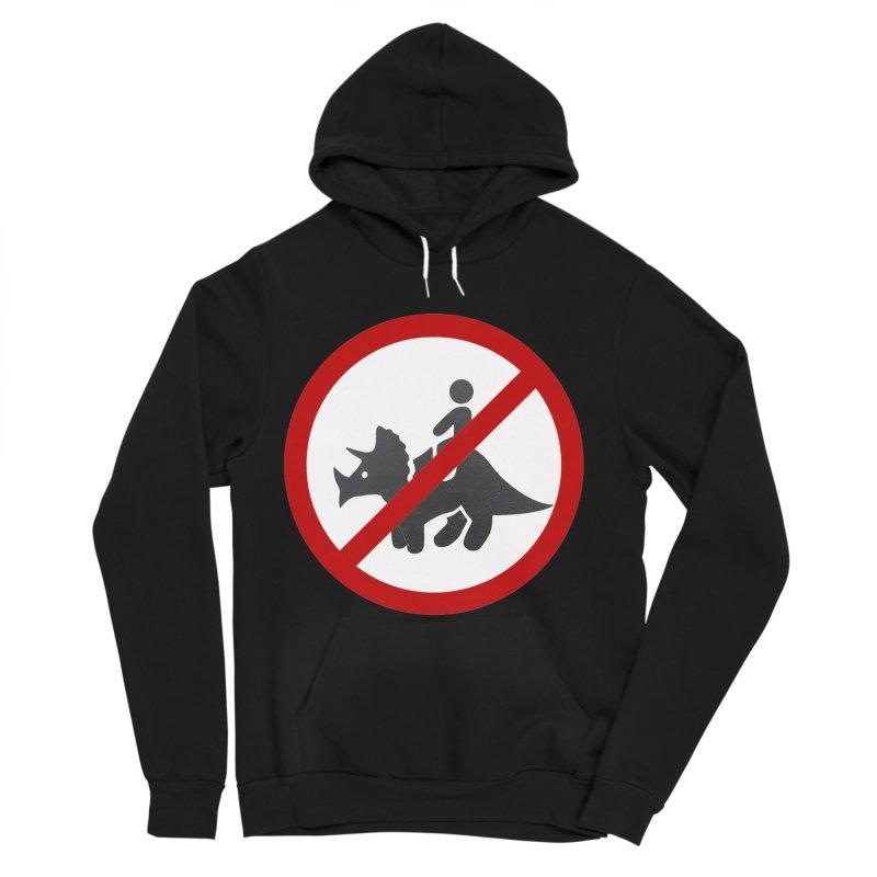No Dino Rides Men's Sponge Fleece Pullover Hoody by My Shirty Life