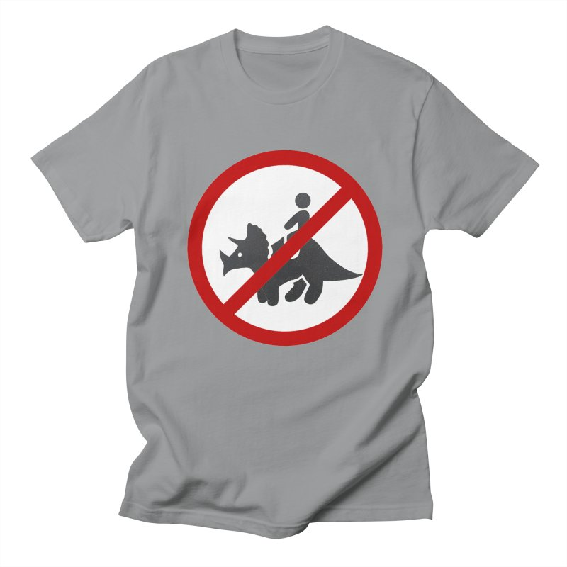 No Dino Rides Men's T-Shirt by My Shirty Life