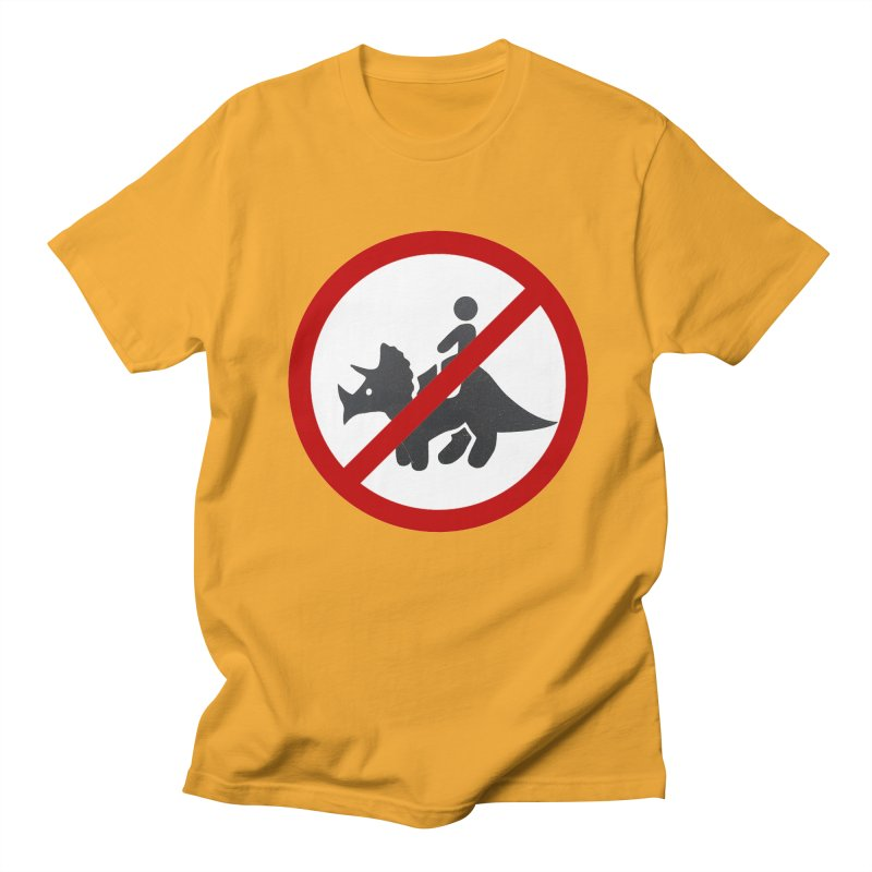 No Dino Rides Women's Unisex T-Shirt by My Shirty Life