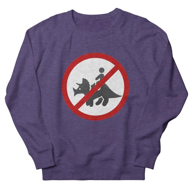 No Dino Rides Men's Sweatshirt by My Shirty Life