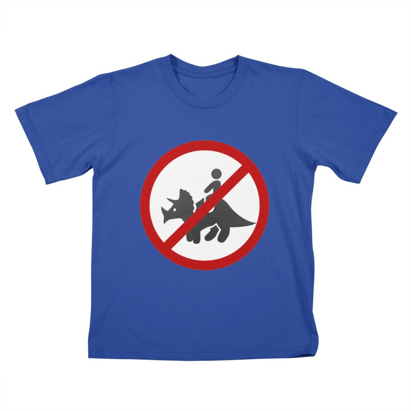 No Dino Rides Kids T-Shirt by My Shirty Life