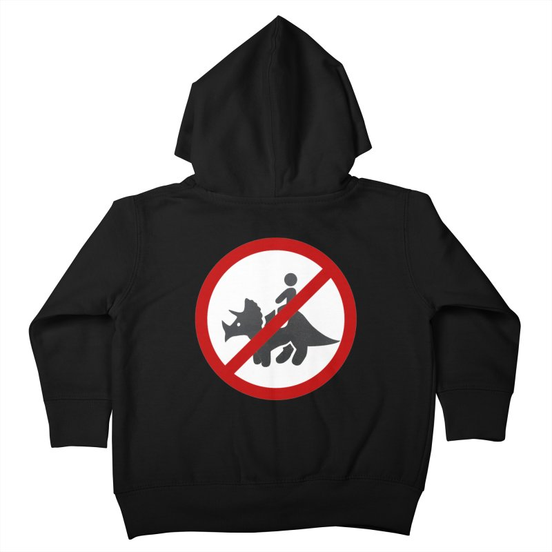 No Dino Rides Kids Toddler Zip-Up Hoody by My Shirty Life