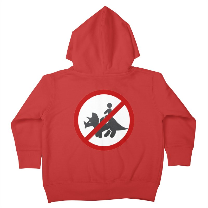 No Dino Rides Kids Toddler Zip-Up Hoody by My Shirty Life