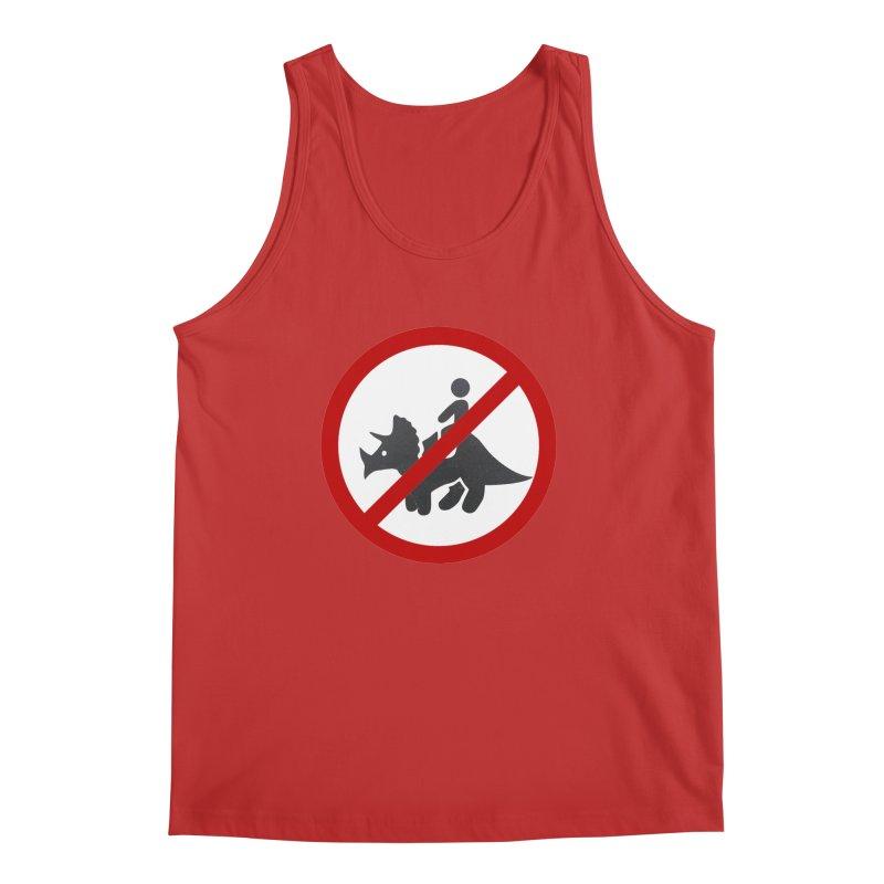 No Dino Rides Men's Tank by My Shirty Life