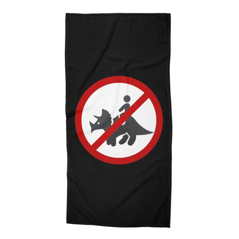 No Dino Rides Accessories Beach Towel by My Shirty Life