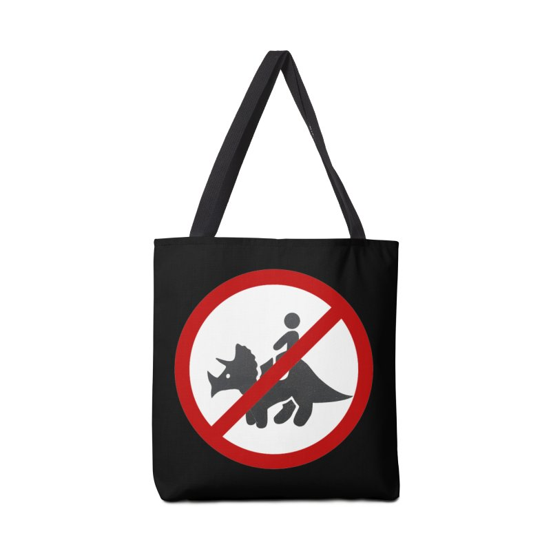 No Dino Rides Accessories Tote Bag Bag by My Shirty Life