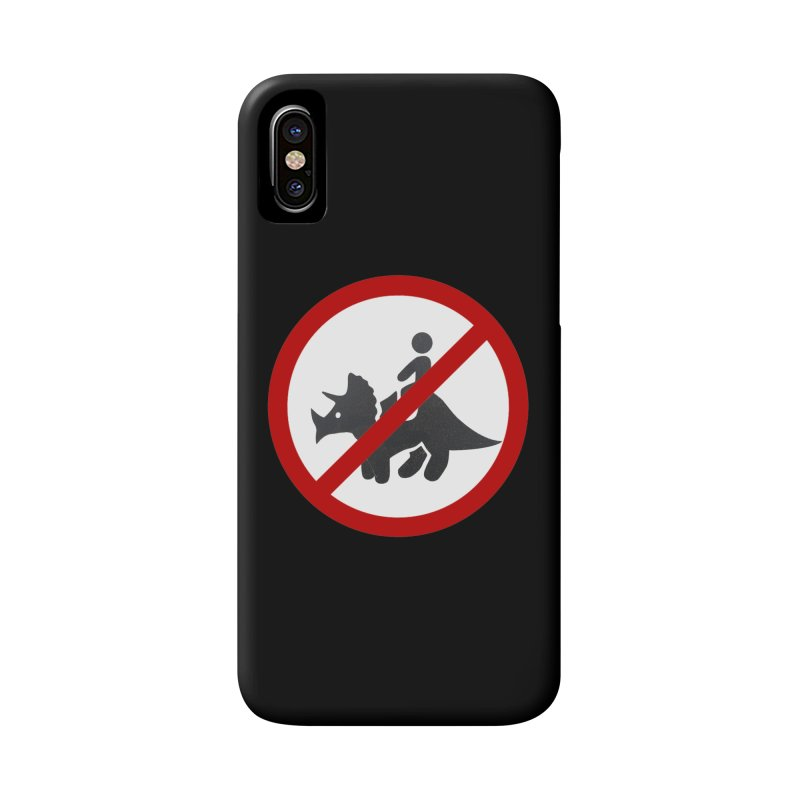 No Dino Rides Accessories Phone Case by My Shirty Life