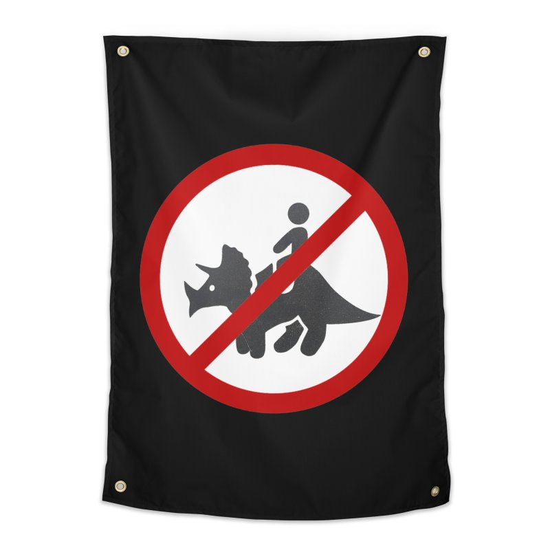 No Dino Rides Home Tapestry by My Shirty Life