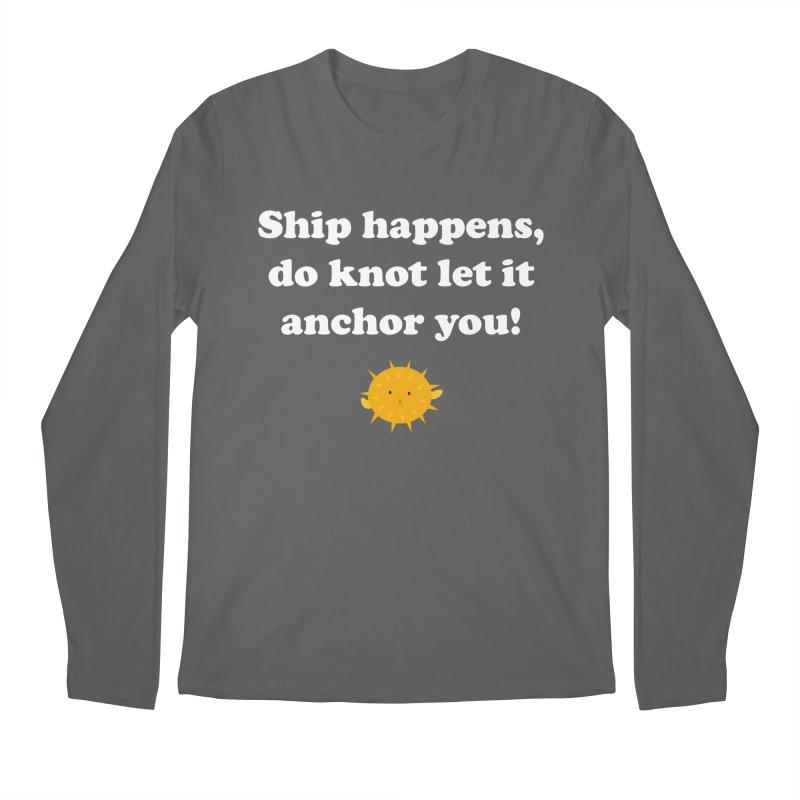 Ship Happens Men's Longsleeve T-Shirt by My Shirty Life