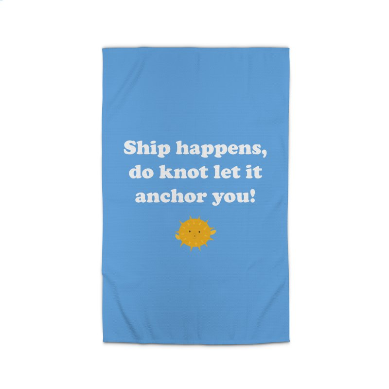 Ship Happens Home Rug by My Shirty Life