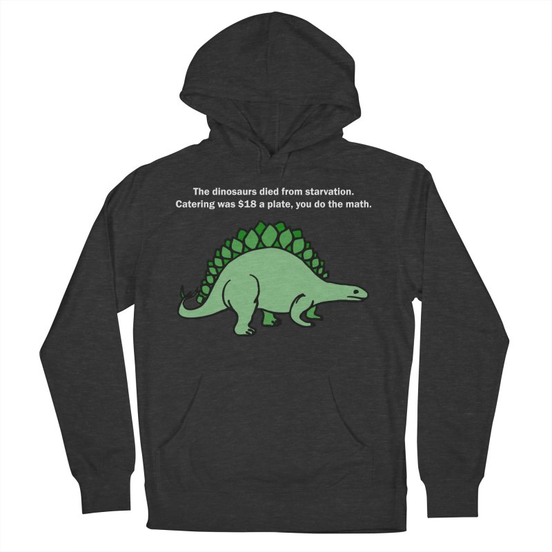 Dinosaurs VS Catering Men's Pullover Hoody by My Shirty Life