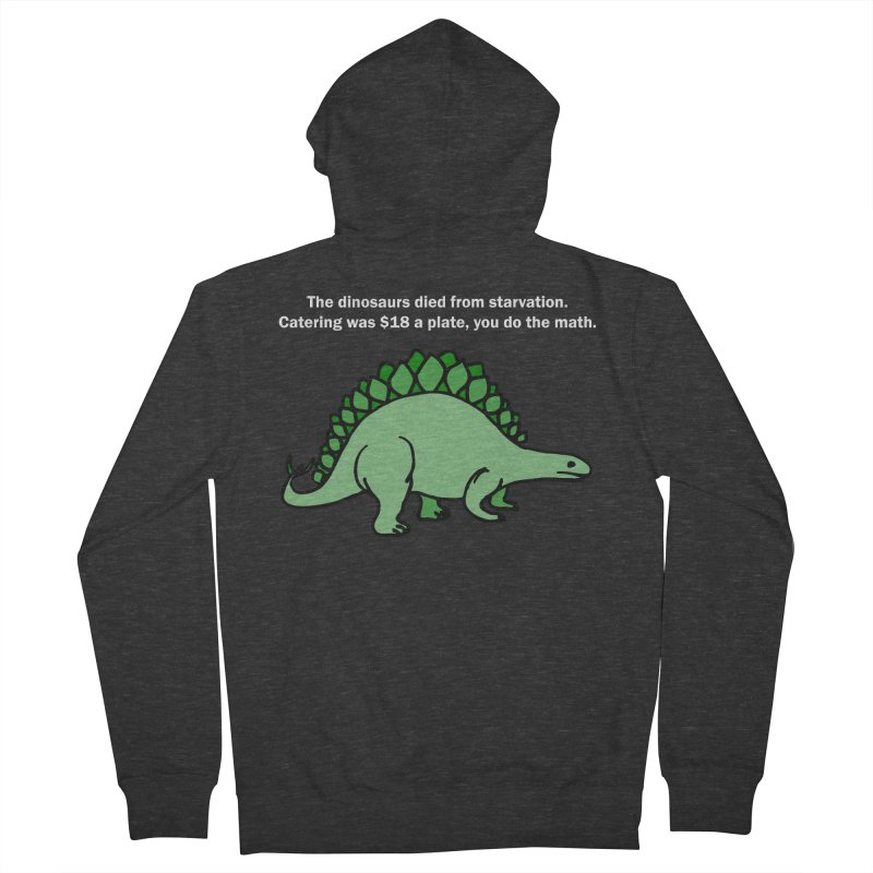 Dinosaurs VS Catering Men's Zip-Up Hoody by My Shirty Life
