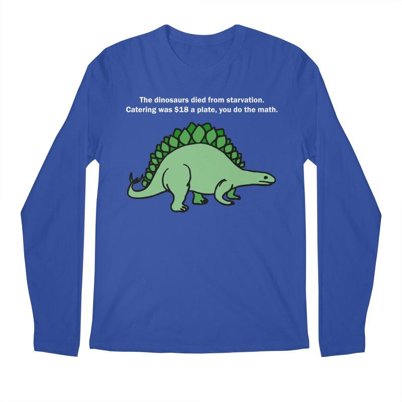 Dinosaurs VS Catering Men's Longsleeve T-Shirt by My Shirty Life