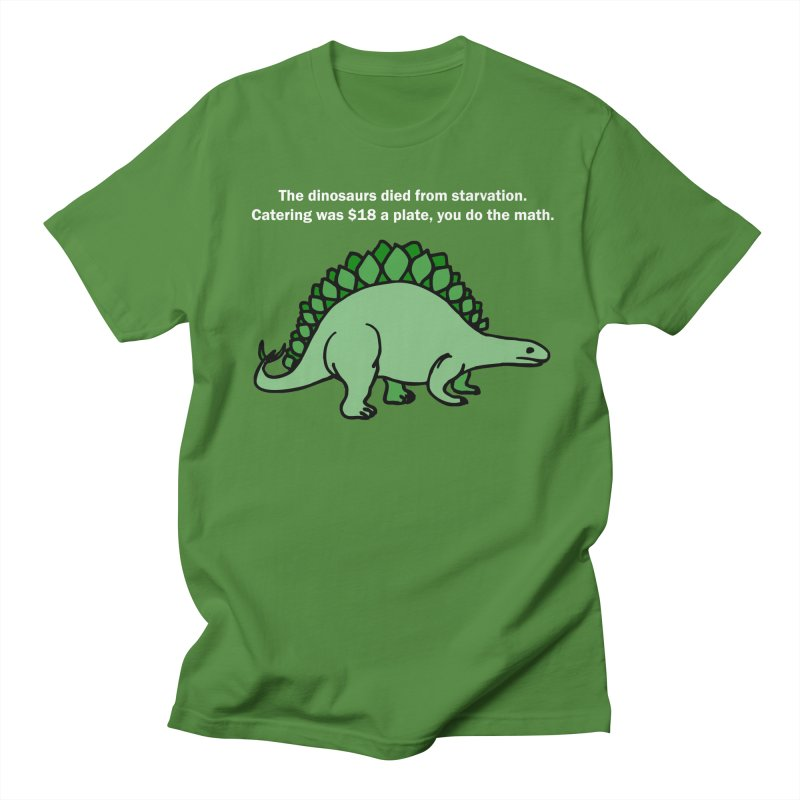 Dinosaurs VS Catering Men's T-Shirt by My Shirty Life