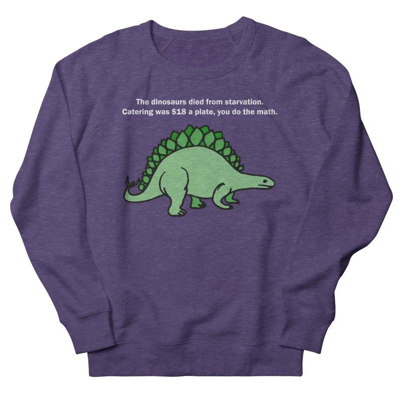 Dinosaurs VS Catering Men's Sweatshirt by My Shirty Life