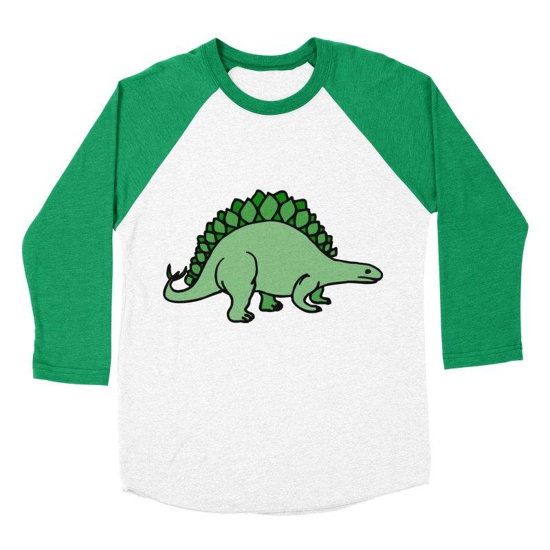 Dinosaurs VS Catering Men's Baseball Triblend T-Shirt by My Shirty Life