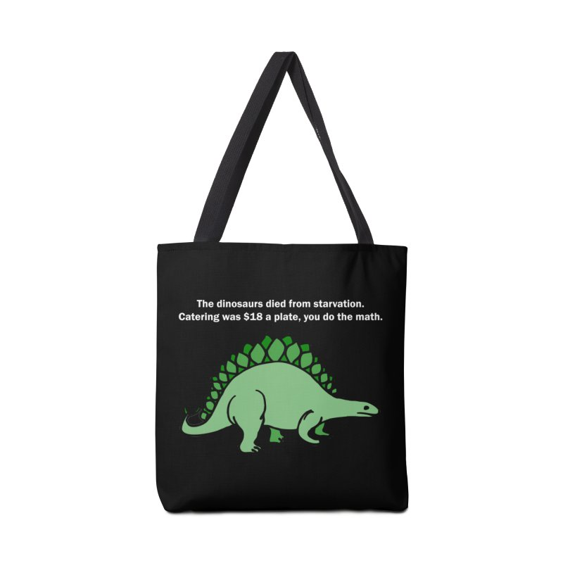 Dinosaurs VS Catering Accessories Bag by My Shirty Life