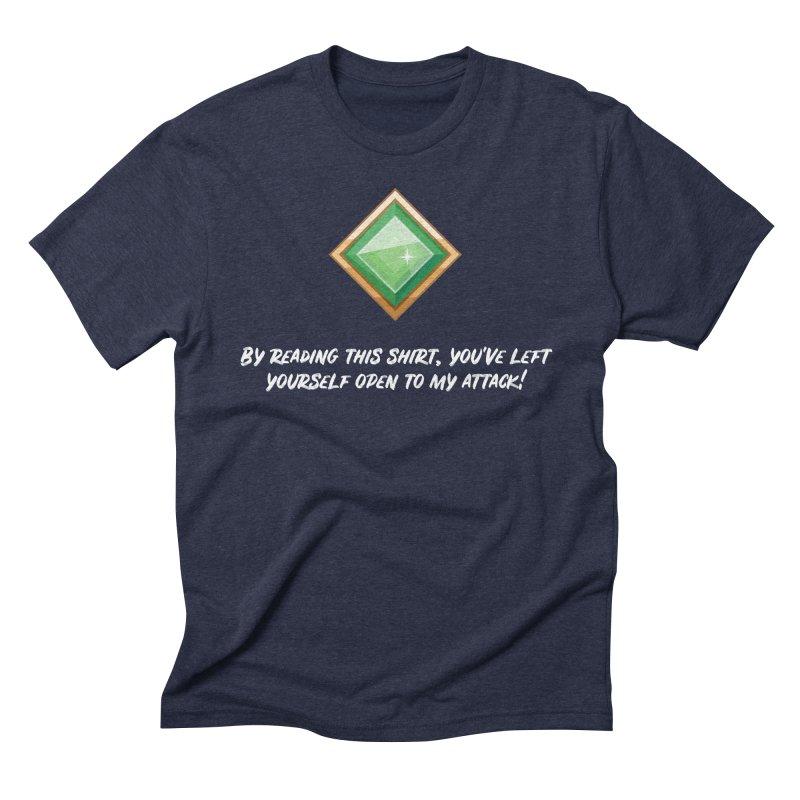 Brawler Jade Men's Triblend T-Shirt by My Shirty Life