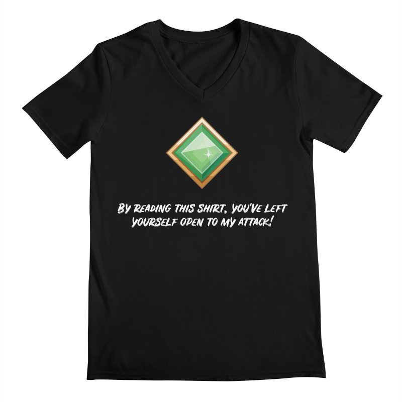 Brawler Jade Men's V-Neck by My Shirty Life