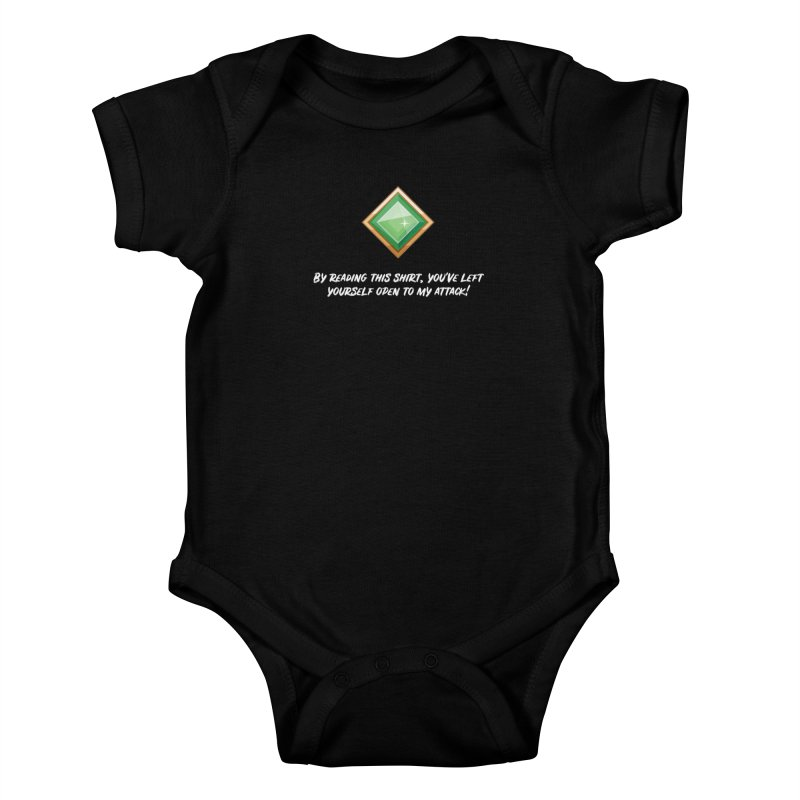 Brawler Jade Kids Baby Bodysuit by My Shirty Life