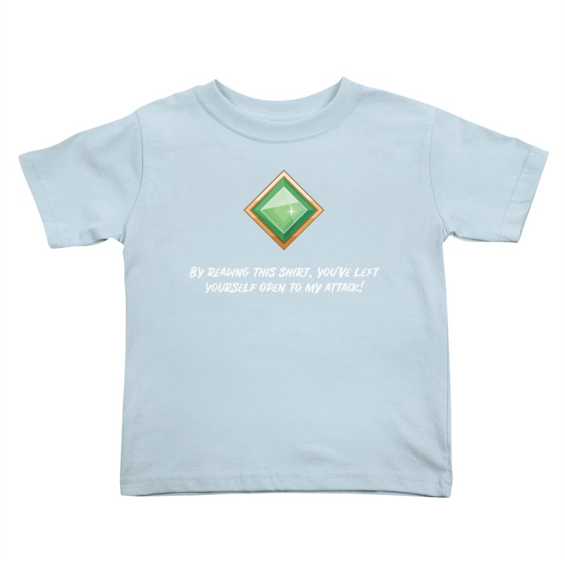 Brawler Jade Kids Toddler T-Shirt by My Shirty Life